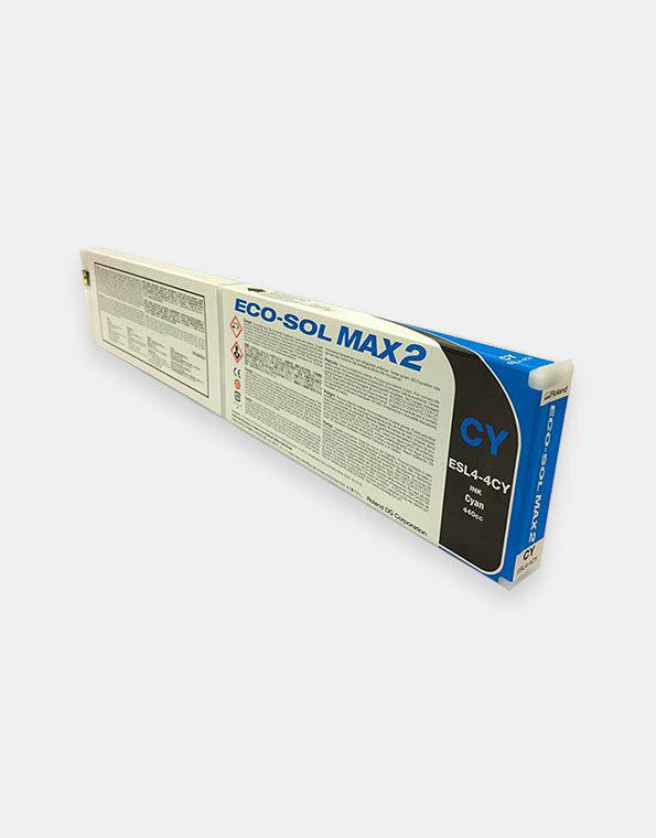 ESL4-4CY-Cartuccia-Eco-Sol-Max2-C-Cyan-440cc