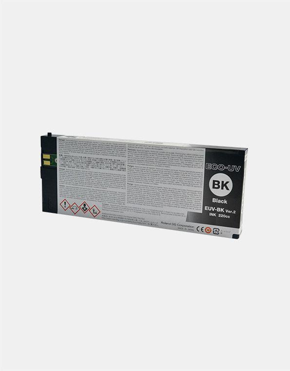 EUV-BK-Cartuccia-Roland-ECO-UV2-BLACK-220cc