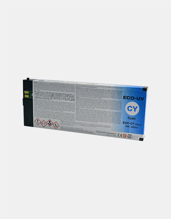 EUV-CY-Cartuccia-Roland-ECO-UV2-CYANO-220cc