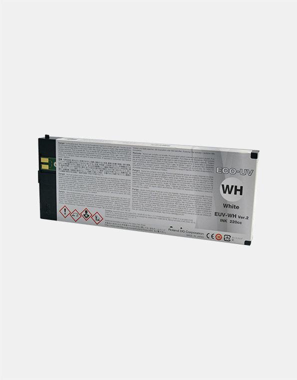 EUV-WH-Cartuccia-Roland-ECO-UV2-WHITE-220cc