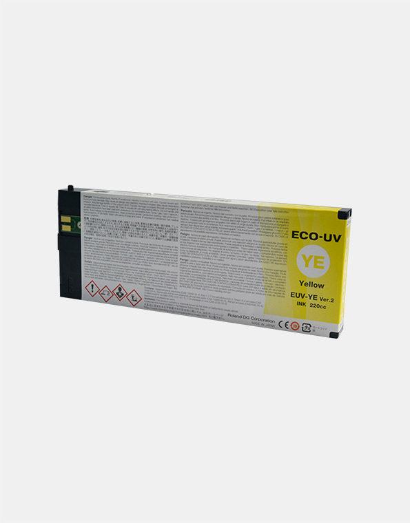 EUV-YE-Cartuccia-Roland-ECO-UV2-YELLOW-220cc
