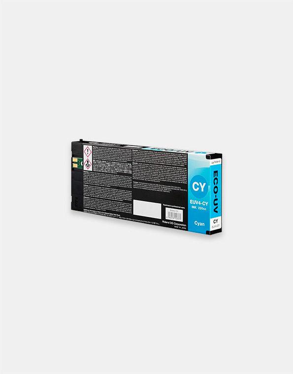 EUV4-C-Cartuccia-Roland-ECO-UV-CIANO-220cc